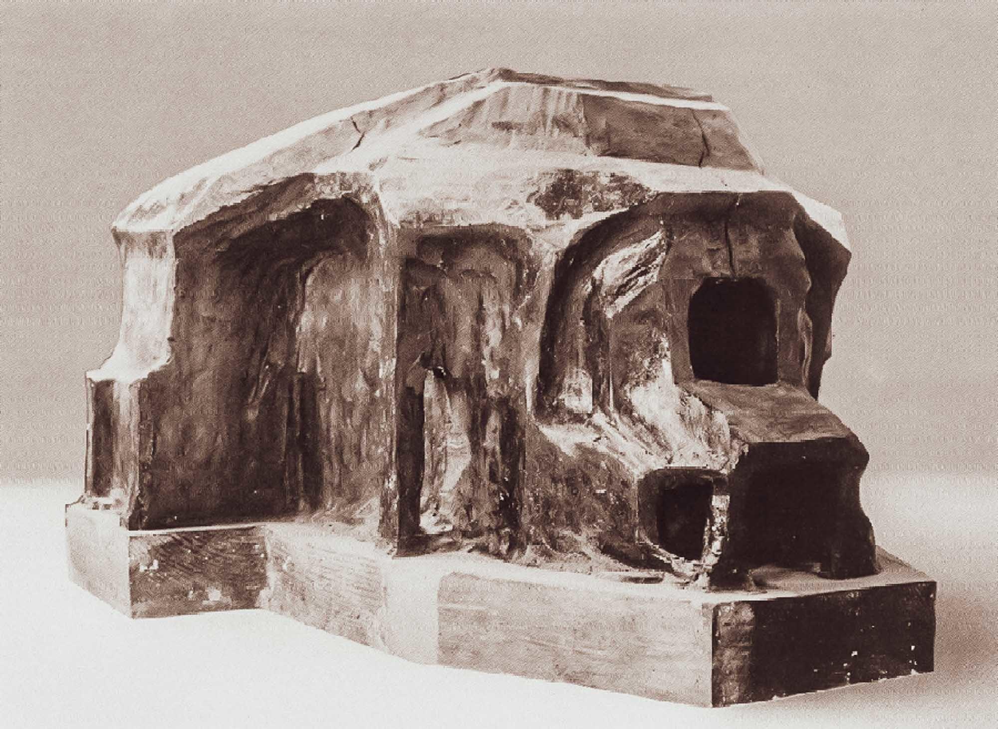 Rudolf Steiner, Model des zweiten Goetheanum