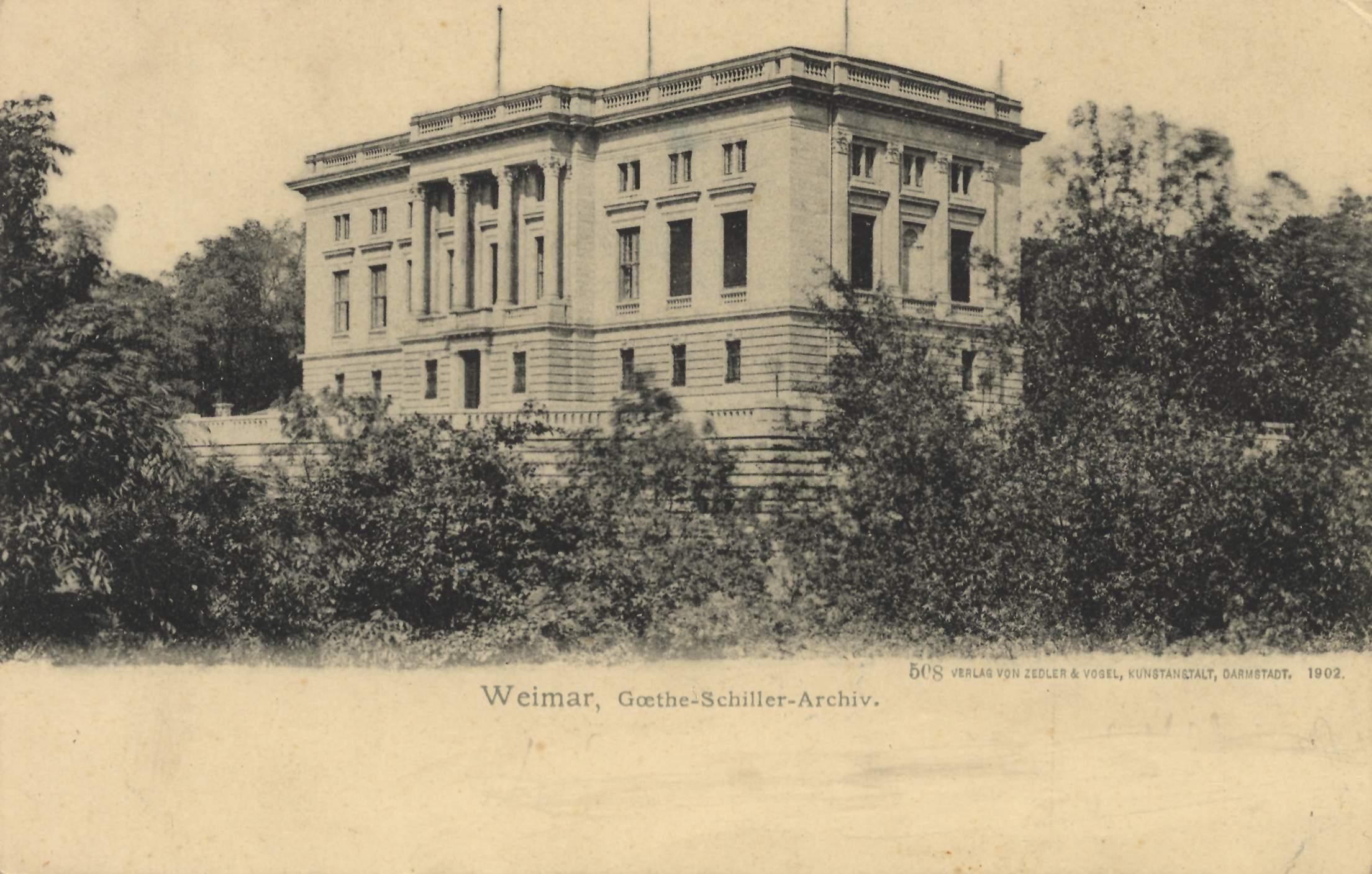 Archives Goethe-Schiller, Weimar