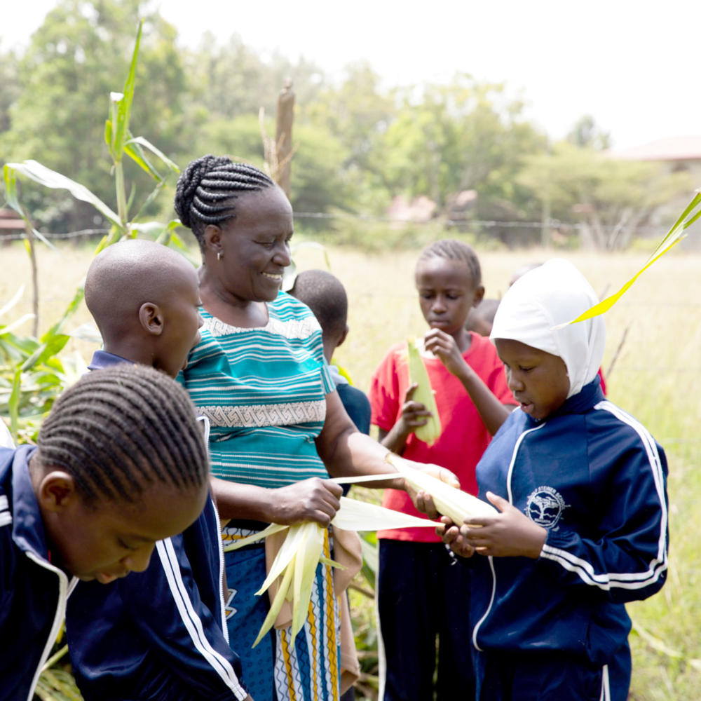 ‹Living Farms›: Steiner-Schule in Kenia