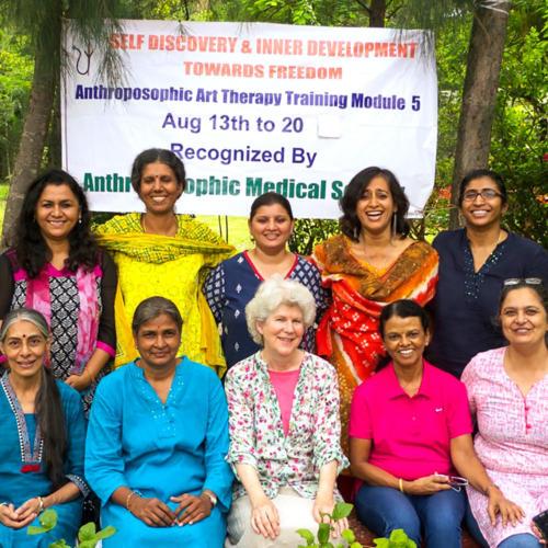 Kunsttherapie Indien