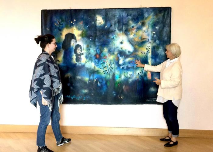 Ausstellung: Zeitgenössische Malerei aus Tiflis/Georgien
