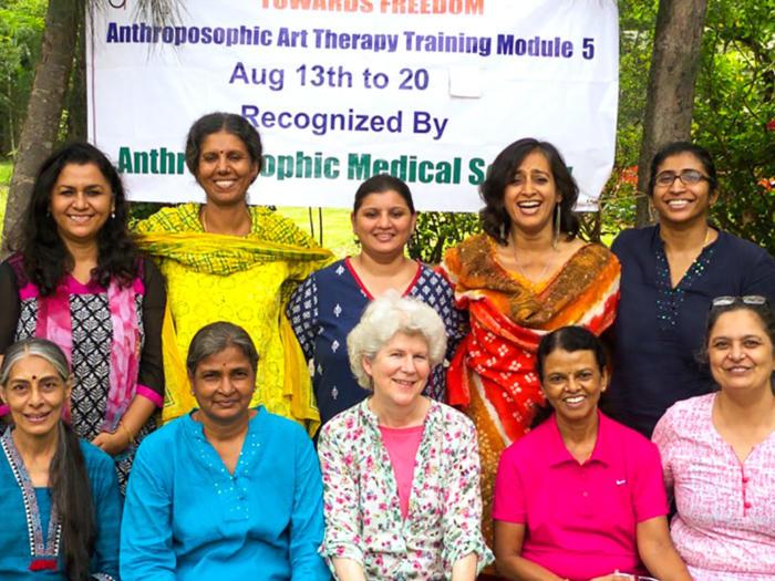 Art-thérapie en Inde